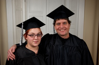 "FAMILY PRIDE ""After going 25 years with only a sixth-grade education, I came to the Literacy Council to fulfill one unaccomplished goal: to capture my high school equivalency diploma,"" says Bill Killinger. Bill earned his GED and encouraged his daughter Danielle to do the same. A year after Bill reached his goal, Danielle reached hers. Appropriately enough, she cites her own children as motivation: ""I wanted to get my GED to get a better job and create a better life for my kids."""