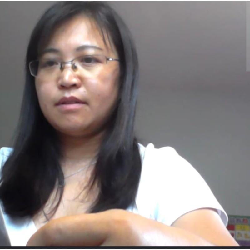 Literacy student and tutor meet on Skype