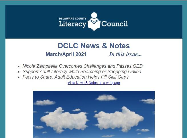 DCLC News & Notes March/April 2021