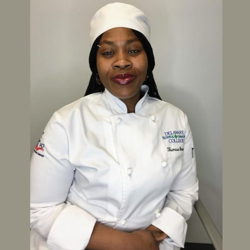 Student in Chef attire