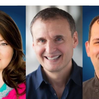 Kathy Deitch, Phil Rosenthal, Alex Garfinkel